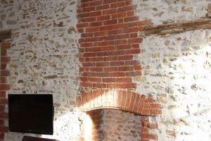 enduire mur en brique