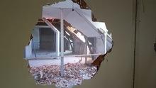 Démolition murs et plafonds