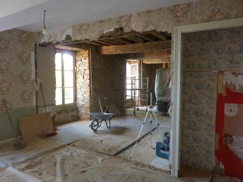 Casser Une Cloison En Brique démolition des murs et plafonds : des travaux à réaliser soi