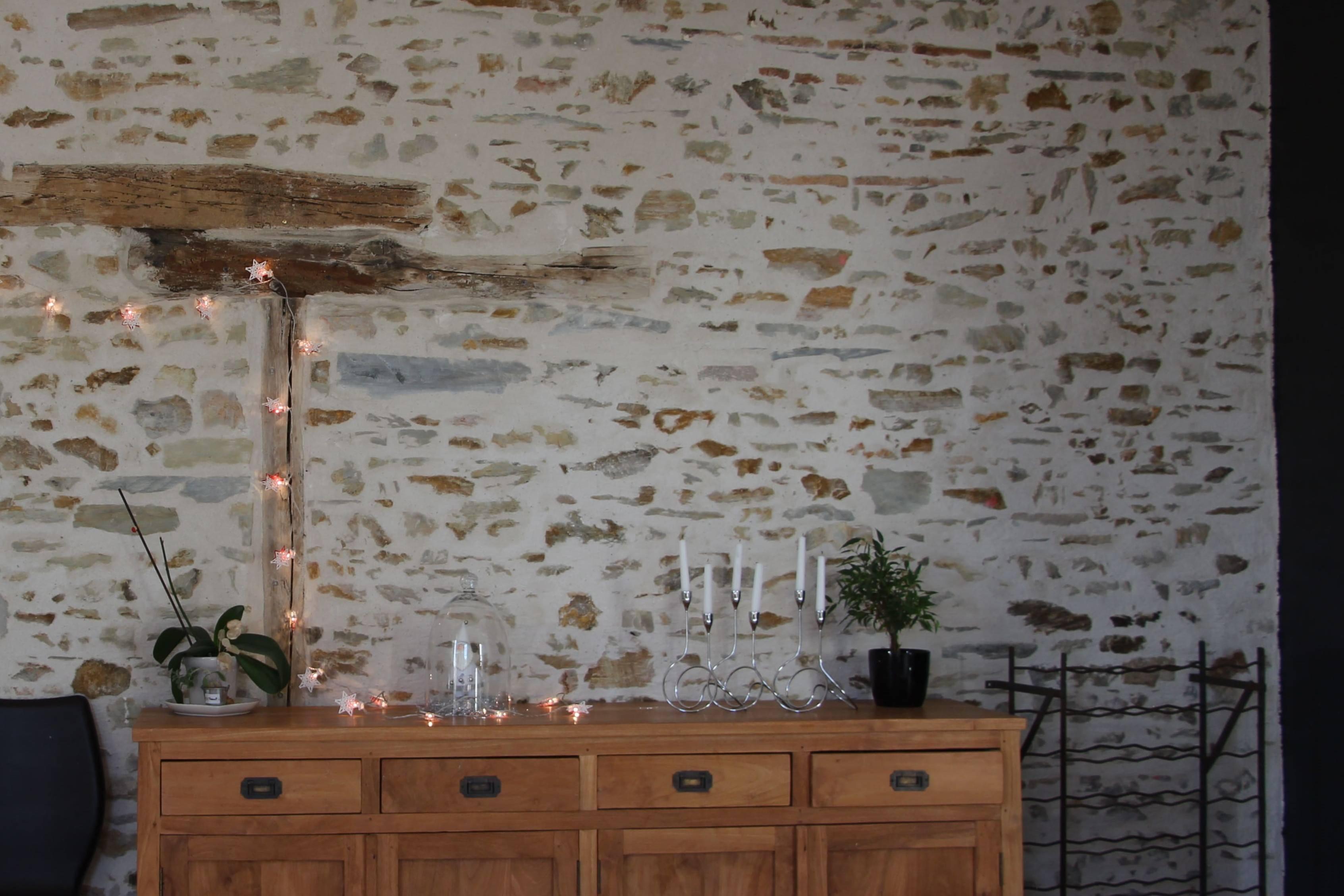 Peindre Mur Pierre Exterieur mur en pierre apparente : comment enduire son mur intérieur